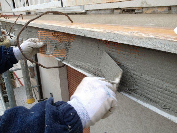 Ripristino cemento armato e intonaci edil paint - Rete porta intonaco ...